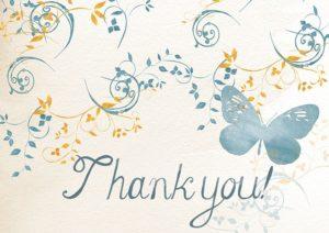 Nostimos, Bedankt, dankjewel voor de goede hulp na mijn bedrijfsongeval