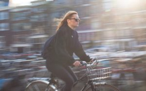 Fiets, ongeluk, snel fietsen